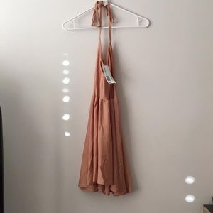 new with tag halter dress